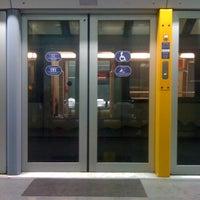 Photo taken at Metro Rivoli (M1) by Federica V. on 4/14/2012