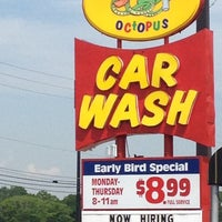 Photo taken at Octopus Car Wash by steven b. on 3/30/2012