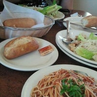 Photo taken at Amici's East Coast Pizzeria by Stella B. on 8/24/2012