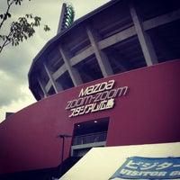 Photo taken at Mazda Zoom-Zoom Stadium Hiroshima by ykr_gnn on 8/5/2012