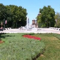 Photo taken at Tašmajdanski park by Alitria S. on 7/21/2012