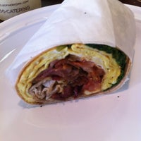 Photo taken at Brendel's of New York Bagels & Eatery by Lori F. on 5/25/2012
