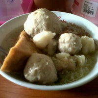Photo taken at Bakso Ciat Solo by Ana N. on 2/15/2012