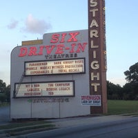 Photo taken at Starlight Six Drive-In by Karyn S. on 9/2/2012