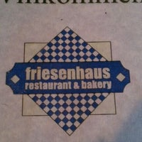 Photo taken at Friesenhaus Restaurant And Bakery by Lynn L. on 4/7/2012