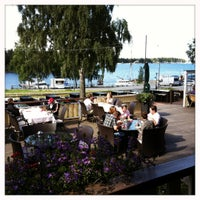 Photo taken at Strampen Restaurant & Terrace by Vincent on 8/9/2012