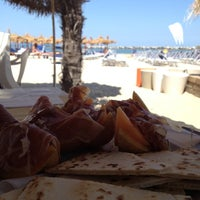 Photo taken at Villa Rosa - Bar Beach & Restaurant by Ilaria B. on 6/28/2012
