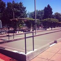 Photo taken at San Rafael Bocce Courts by Toccara B. on 8/17/2012