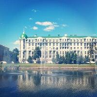 Photo taken at Парк «Чёрное озеро» by Igor K. on 7/29/2012