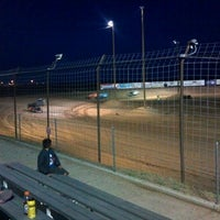 Photo taken at Southern NM Speedway by Jessica L. on 5/13/2012