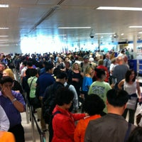 Photo taken at Security/Passport Control - T1 by James B. on 5/26/2012