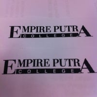 Photo taken at Empire Putra College by Nik H. on 5/14/2012