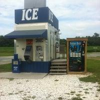 Photo taken at Ice Vending Machine by Kati 💚 on 8/7/2012