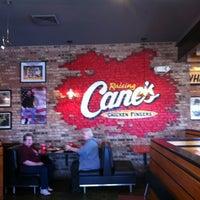 Photo taken at Raising Cane's by Jan on 2/17/2012