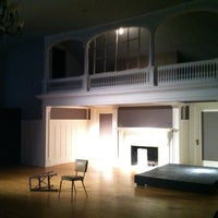 Photo taken at Half Light Theatre @ Roberson Mansion by Nathan B. on 3/22/2012