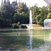 Photo taken at Parco Termale Villa dei Cedri by Jacopo F. on 8/5/2012