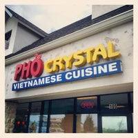 Photo taken at Pho Crystal Vietnamese Cuisine by Mark L. on 4/11/2012
