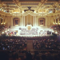 Photo taken at Mechanics Hall by Billy C. on 5/31/2012