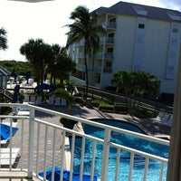 Photo taken at Hutchinson Island Marriot Sandpipper by David M. on 9/8/2012