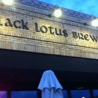Photo taken at Black Lotus Brewing Co. by Pandora R. on 7/10/2012