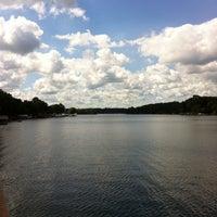 Photo taken at Lake Freeman by Matthew F. on 8/18/2012