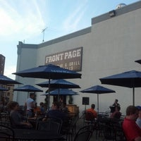 Photo taken at Front Page Sports Bar & Grill by Kristi K. on 7/29/2012