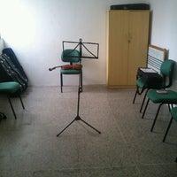 Photo taken at Escola de Música by Lya M. on 6/5/2012