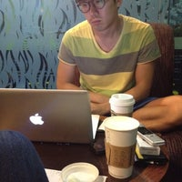 Photo taken at Starbucks Coffee by David Aaron N. on 7/14/2012