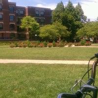 Photo taken at DePaul University Quad by Karl M. on 6/17/2012