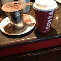 Photo taken at Costa Coffee by Ian T. on 2/11/2012