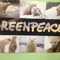 Photo taken at Greenpeace by Ishmael H. on 5/23/2012