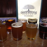 Photo taken at Arbor Brewing Company by Jeff on 8/17/2012