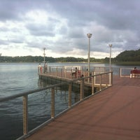 Photo taken at The Floating Platform by Dave C. on 7/15/2012