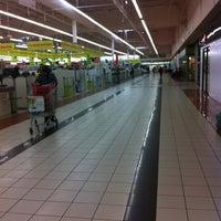 Photo taken at Auchan by Alix E. on 3/19/2012