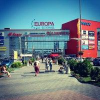 Снимок сделан в ТРК «Европа Сити Молл» пользователем Дмитрий Н. 8/24/2012
