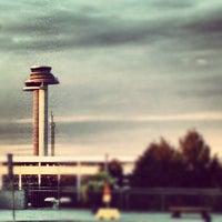 Photo taken at Terminal 4 by Johan W. on 9/9/2012