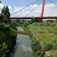 Photo taken at Ponte all'Indiano by Eli T. on 5/28/2012