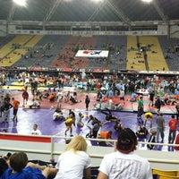Photo taken at UNI-Dome by Lori H. on 3/30/2012