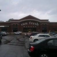 Photo taken at Marsh's Sun Fresh Market by Corey Againstallodds V. on 4/14/2012