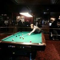 Photo taken at Amsterdam Billiards & Bar by Omar C. on 5/12/2012