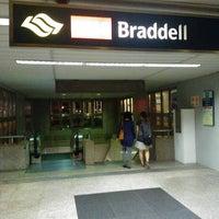 Photo taken at Braddell MRT Station (NS18) by Jit Ming on 4/26/2012