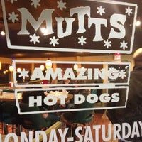 Photo taken at Mutt's Amazing Hot Dogs by Jeremiah S. on 2/25/2012