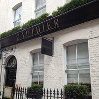 Photo taken at Gauthier Soho by Damian S. on 7/17/2012