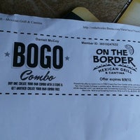 Photo taken at On The Border Mexican Grill & Cantina by Kellie C. on 8/27/2012