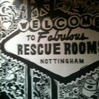 Снимок сделан в The Rescue Rooms пользователем Margaret R. 4/21/2012