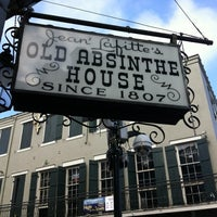 Photo taken at The Old Absinthe House by Erroin M. on 3/15/2012