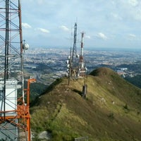 Photo taken at Pico do Jaraguá by Paulo Ricardo M. on 6/4/2012