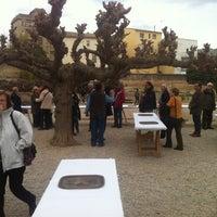Photo taken at el celler de salomo by Josep J. on 3/4/2012