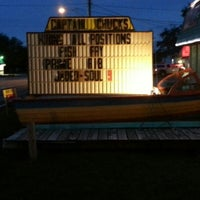 Photo taken at Captain Chuck's Sandbar & Grill by Dave R. on 9/8/2012
