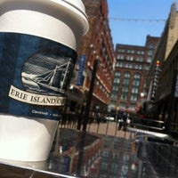 Photo taken at Erie Island Coffee Company by Mike W. on 5/13/2012